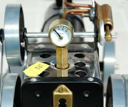 Pressure Gauge to 30 psi with Mamod Stem